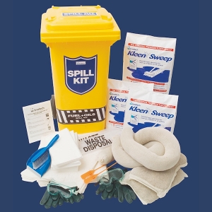 Spill kit for service station