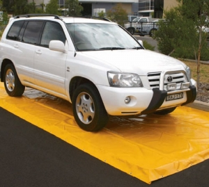 vehicle wash mats