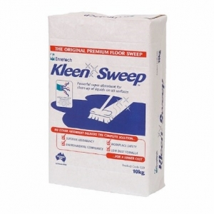 Kleen Sweep spill absorbent