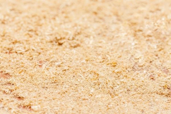 Sawdust spill absorbent